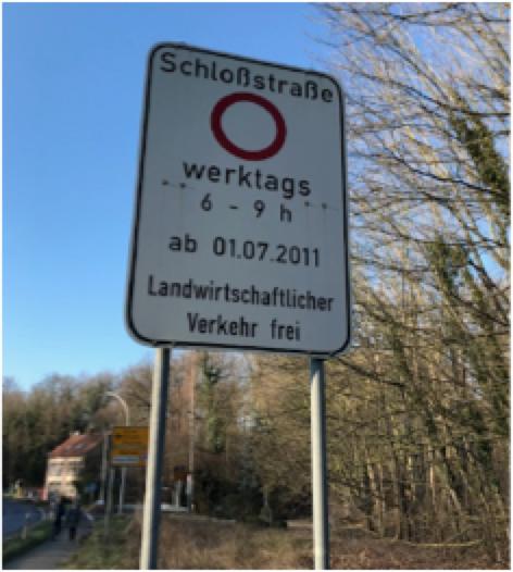 Antrag zur Sitzung des Ausschusses für Bauen, Verkehr und Umwelt am 13.2.2020 hier: Verkehrsführung Schlossstraße in Frechen-Bachem