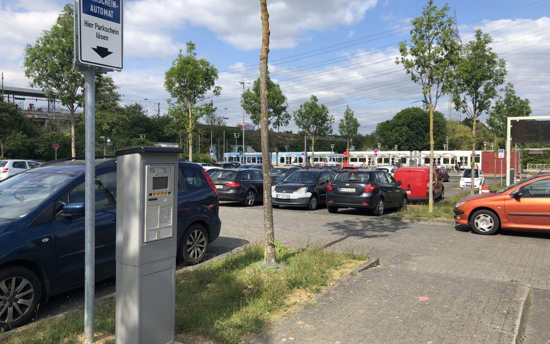 P&R-Anlage Weiden-West – Grüne begrüßen das neue Park-Konzept der KVB